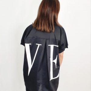 Camisa love oversize