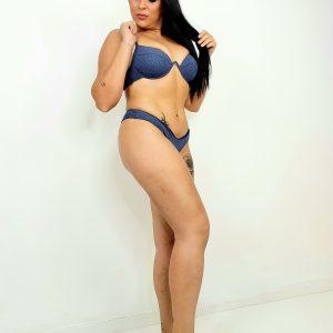 bikini de brillo brasileño