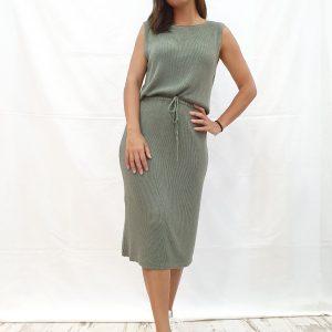 vestido de hilo
