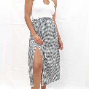 falda cuadros vichi