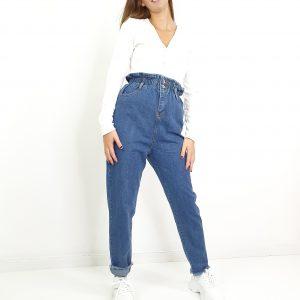 pantalón cintura fruncida