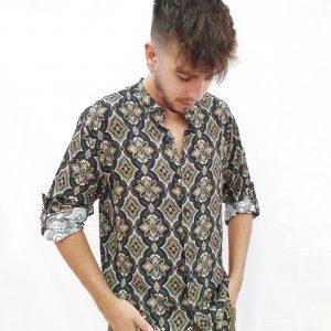 camisa estampada