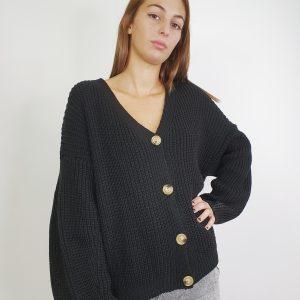 rebeca de lana con botones