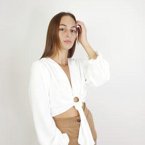 camisa cropped aro