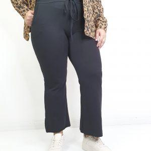 pantalón capri de felpa