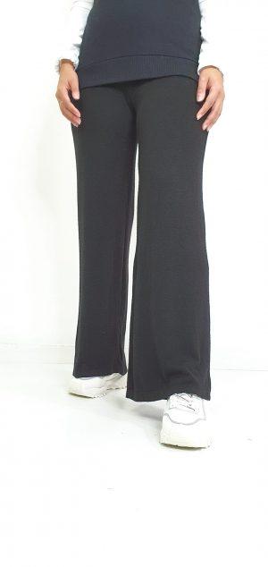 Pantalón de punto ancho