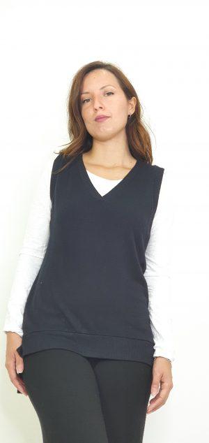 Conjunto chaleco y camiseta