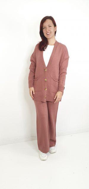pantalon lana pierna ancha