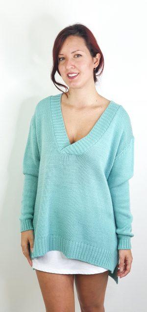 maxi jersey lana