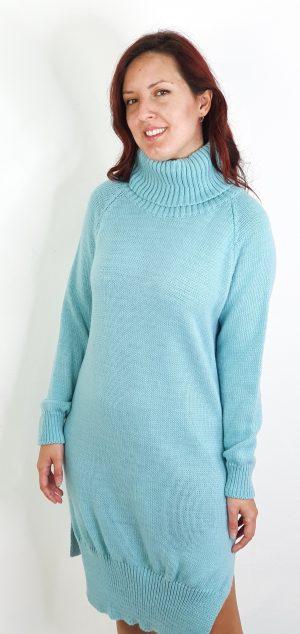 vestido lana midi