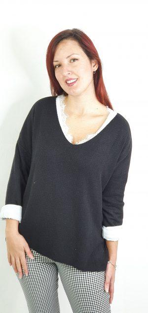 jersey camiseta canalé