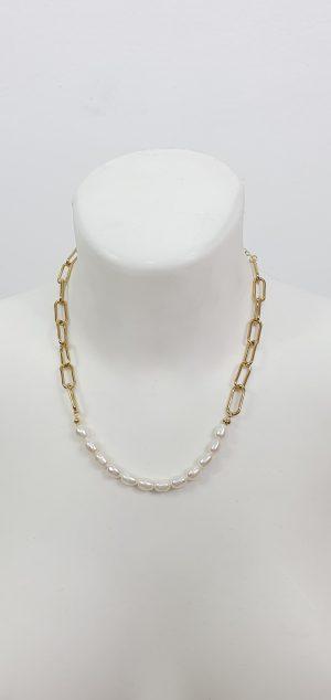 collar perlas nácar