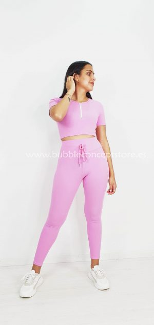 Conjunto crop top y leggin 4620