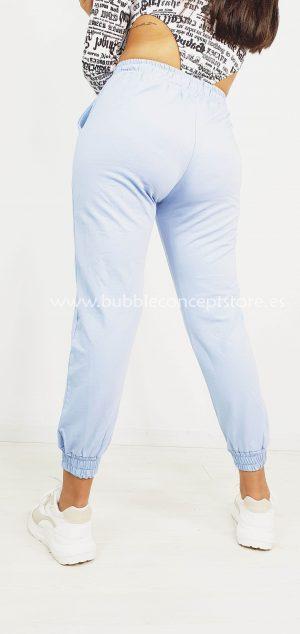 314 Pantalón de chándal talle alto