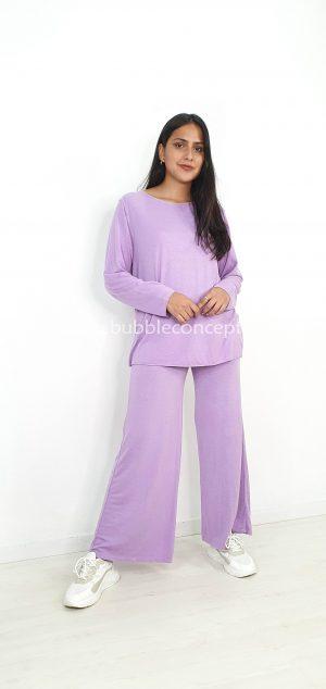 Conjunto comfy de jersey y pantalón 20823