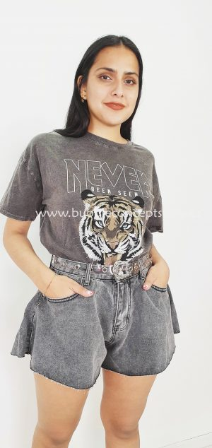 Camiseta tigre never 65712