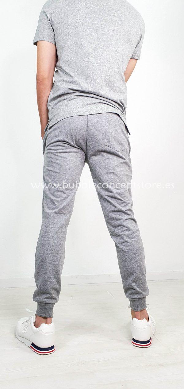 Pantalón de chandal bolsillos cremallera
