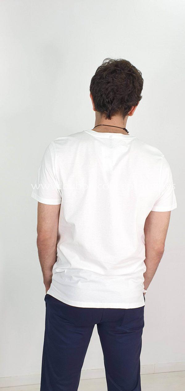 Camiseta básica algodón m/c c/c