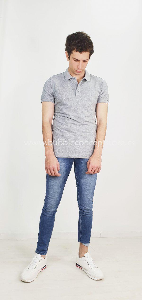 Polo básico de manga corta DA1