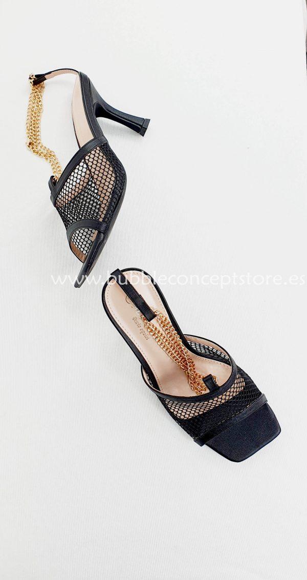 Zapatos de tacón red cadena 1173
