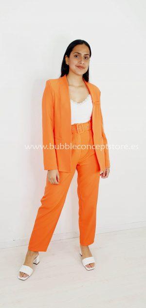 1164 Chaqueta traje naranja