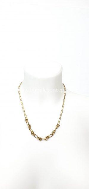 cadena dorada nudos