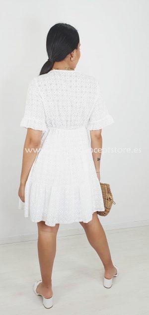 13841 vestido ibicenco perforado