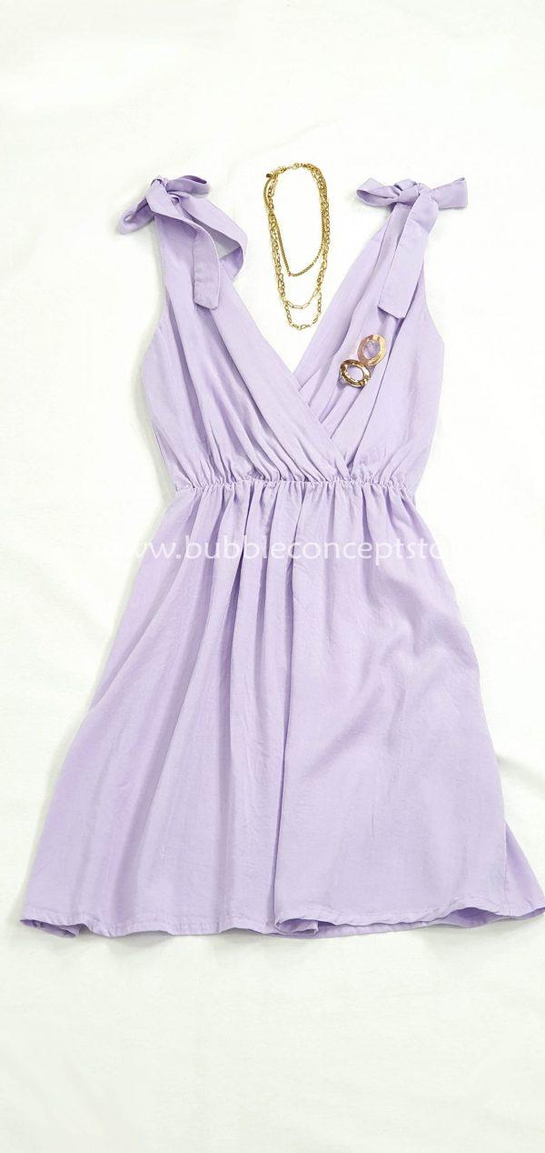 8861 Vestido nudos