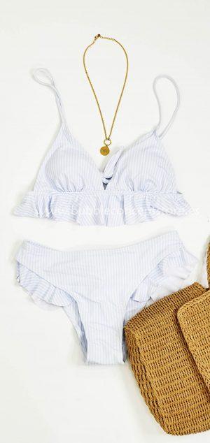 014 Bikini rayas
