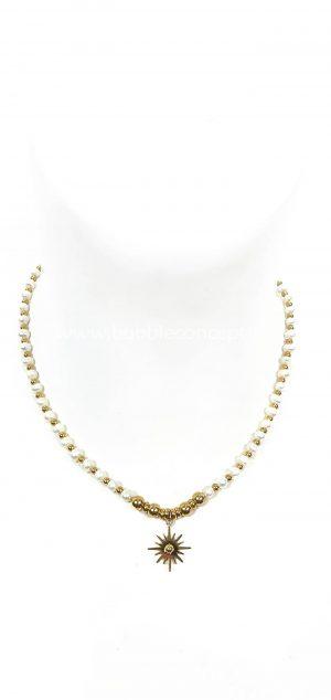 collar perlas sol