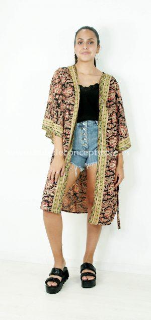 0150 Kimono Hindú largo