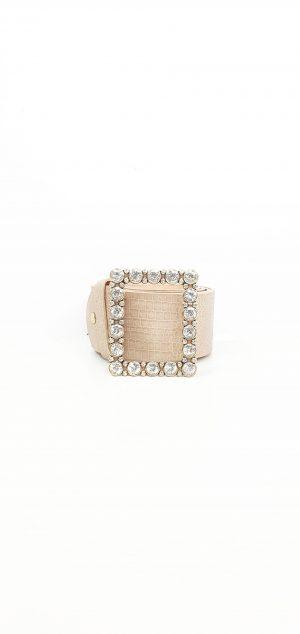 Cinturón hebilla diamantes