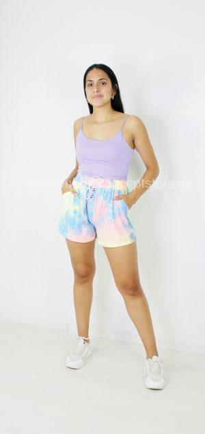 Y115 Short tie dye sporty