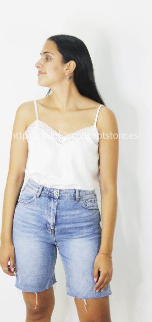 9172 Camisa lencera de tirantas
