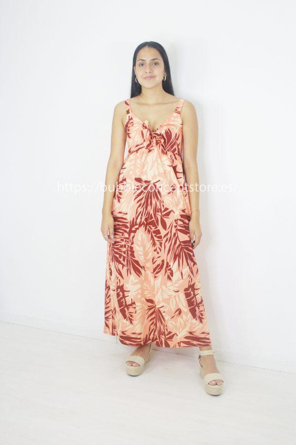 13806 Vestido largo tropical