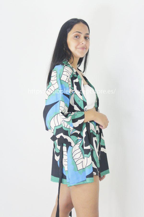 00578 Conjunto print kimono