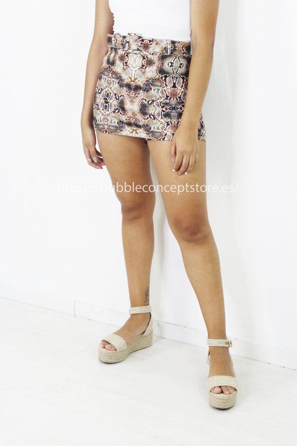 Falda pantalón corta