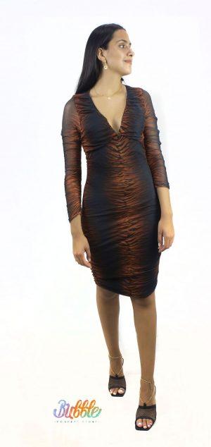 3906 Vestido tull Libia