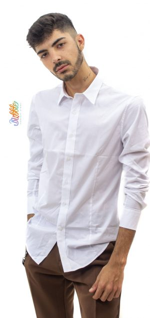 H6012 Camisa Blanca