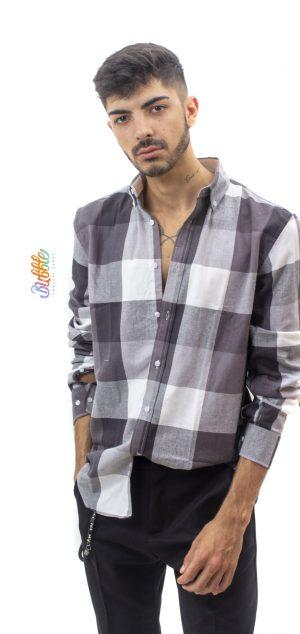 T2 Camisa Franela cuadros