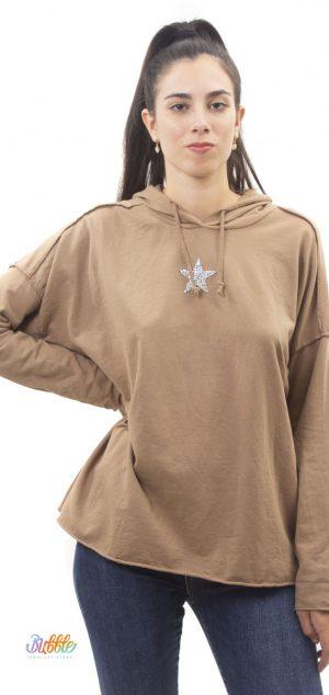 9353 Sudadera estrella brillo