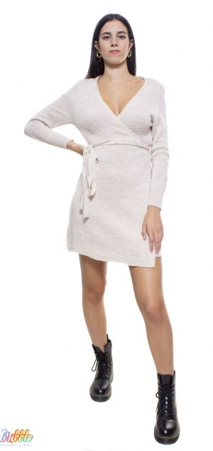 21162 Vestido lana pareo