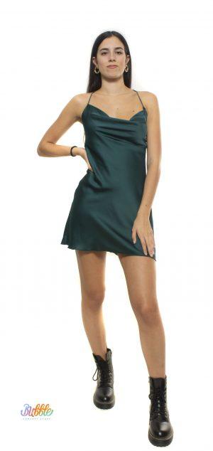 48361 Vestido de raso corto